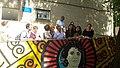 Arce visita el Espacio de Igualdad Berta Cáceres con la hija de esta líder asesinada en 2016 01.jpg