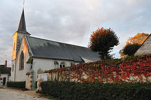 Ardon, Loiret - The church in Ardon
