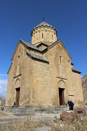 Areni Church - S. Astvatsatsin Church at Areni (southern and western façades)