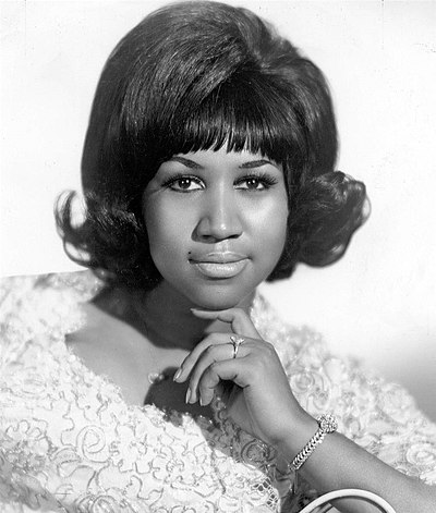 Picture of a band or musician: Aretha Franklin