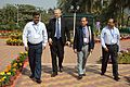 Arijit Dutta Choudhury - Hans-Martin Hinz - Emdadul Islam - Samarendra Kumar - Science City - Kolkata 2014-02-13 8892.JPG
