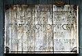 Arkadia drewniana tablica Marii Konopnickiej 2012 MZW 4755.JPG
