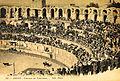 Arles Arènes lors d'une corrida.jpg