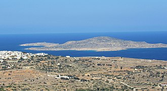 Armathia - View of the island from Kasos