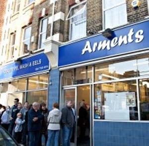 Pie and mash - Traditional Pie and Mash Shop in Walworth, South East London