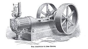Armington & Sims Engine Company - Image: Armington & Sims Engine