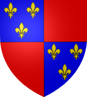 Charles I of Albret - Coat of arms of Charles I