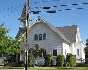 Armona, California - Armona United Methodist Church.