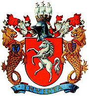 The Kent coat of arms