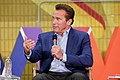 Arnold Schwarzenegger speaks at New Way California Press event in Los Angeles (40066224765).jpg