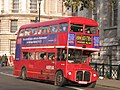 Arriva London Routemaster bus RML2387 (JJD 387D), Whitehall, route 159, 9 December 2005 uncropped.jpg