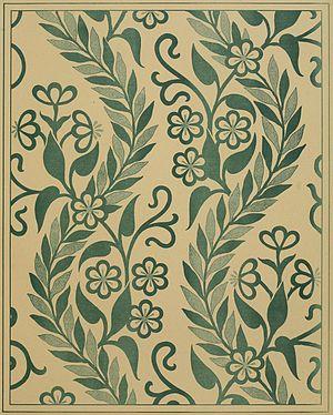 Thomas Crane (1843–1903) - Embroidery design, 1878