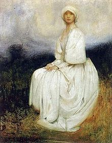 Arthur Hacker The Girl in White.jpg
