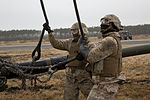 Artillery in the air, Landing support specialists test lift capabilities 140319-M-AR522-009.jpg