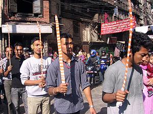 Tuladhar - Asan Pāyā sword procession