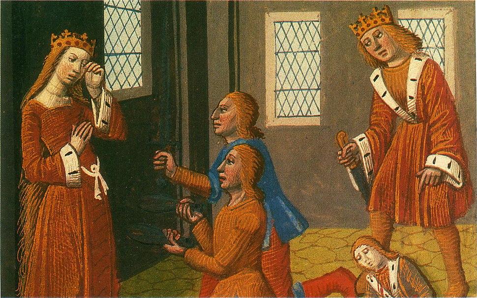 Assassinat de Thibault et Gonthaire