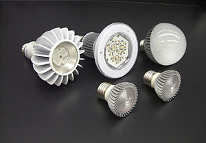 Energy conservation - Image: Assorted LED Lamps