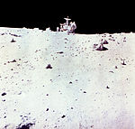 Astronaut Charles Duke with Lunar Rover on Moon - GPN-2002-000071.jpg
