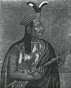 Emperor Atahualpa, the victorious brother, however, his reign as emperor was short