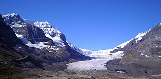 Columbia Icefield - Athabasca Glacier
