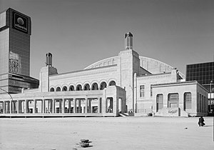 Boardwalk Hall - Image: Atlantic City Convention Hall, On Boardwalk, West of Mississippi Avenue, Atlantic City (Atlantic County, New Jesey)