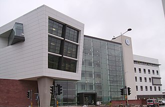 University of South Wales - Image: Atrium, Cardiff