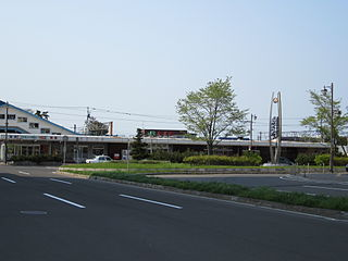 Atsubetsu Station Railway station in Sapporo, Japan