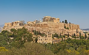 Thucydides - The Acropolis in Athens
