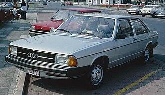 Audi 100 - Audi 100 2-door sedan