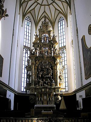 St. Ulrich's and St. Afra's Abbey - High altar in the abbey church