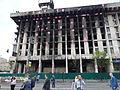 Ausgebranntes Haus am Majdan Nesaleschnosti.JPG