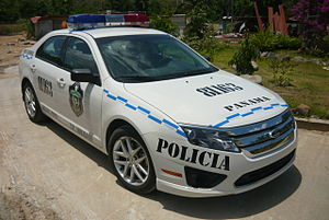 Law enforcement in Panama - Ford Fusion