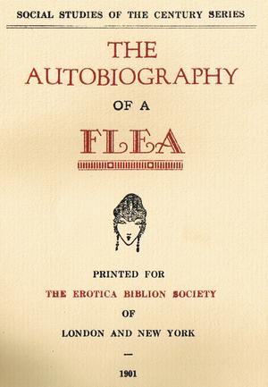 The Autobiography of a Flea - Image: Autobiography of a flea title page