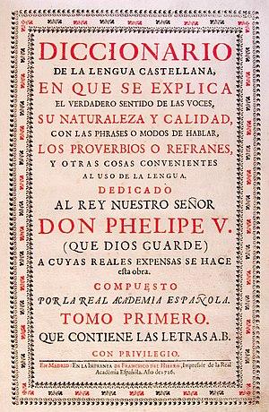 Léxico del español