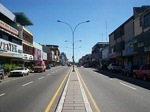 San Felipe, Yaracuy - Image: Avenida Libertador de San Felipe