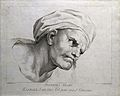 Averroes. Line engraving by D. Cunego, 1785, after A. R. Men Wellcome V0000252.jpg