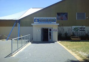 Aviation Heritage Museum (Western Australia) - Image: Aviation Heritage Museum of Western Australia entrance 2012
