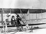 "Aviatrix Ruth Law and Mrs. Robert Goelet in model ""B"" Wright airplane- Daytona Beach, Florida (4009469338).jpg"