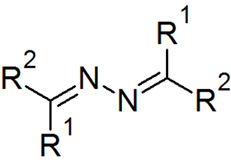 Azine - The generic formula of an azine. For an aldazine, R2 = H.