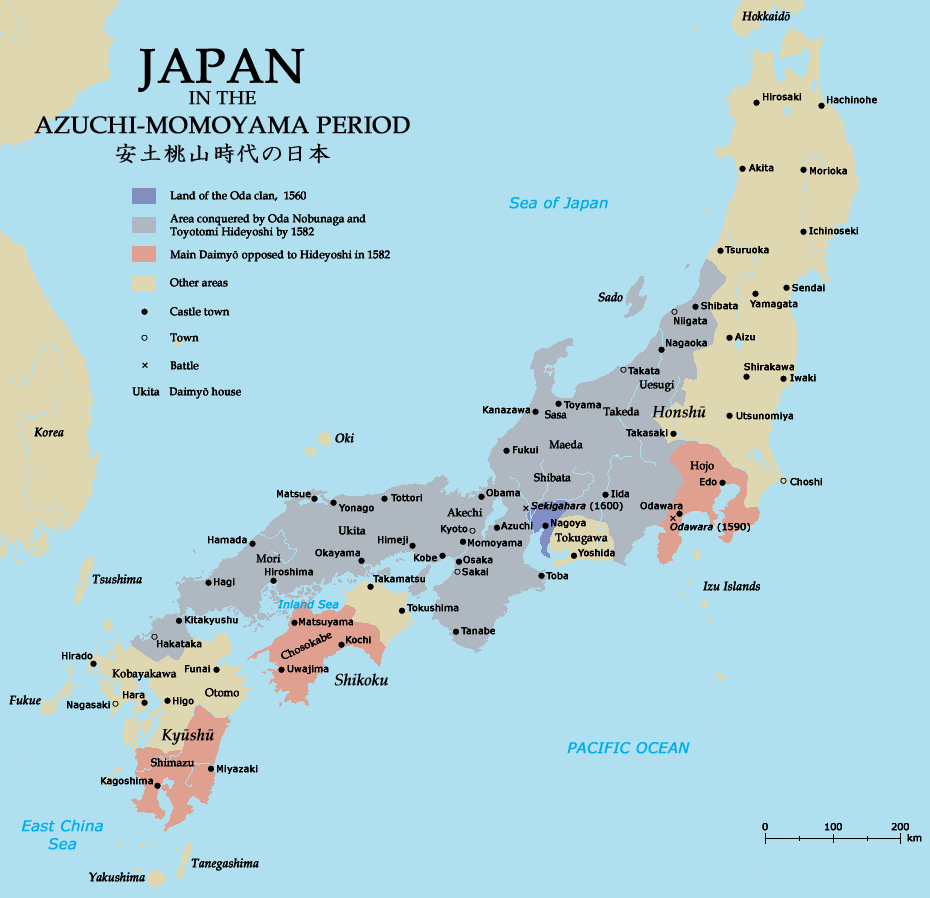 Azuchimomoyama-japan