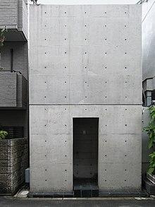 Casa Azuma (住吉の長屋) a Osaka (1976)