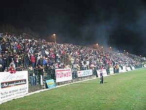 Kórház utcai Stadion - Image: Békéscsabai Előre FTC 20090324 011