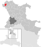 Bürmoos in the district of SL.png