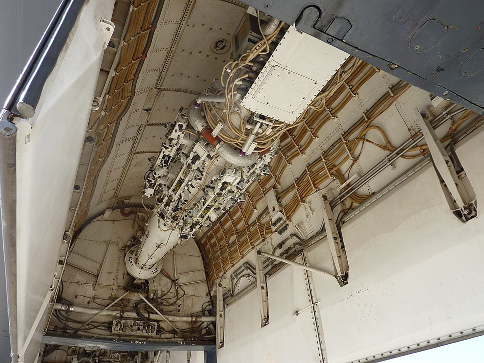B-1 Lancer bomb bay