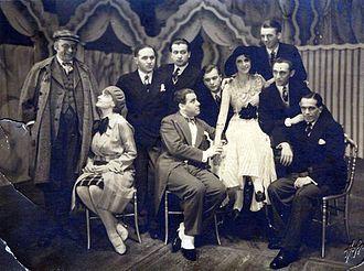 Comedian Harmonists - Image: BASA 1868K 1 44 3 Comedian Harmonists, Leipzig