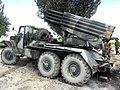 BM-21 Grad captured near Dobropillya 01.jpg