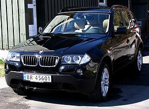 2007 BMW X3, Black