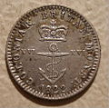 BRITISH COLONIES in CANADA and THE AMERICAS, GEORGE IV -ONE SIXTEENTH SPANISH 8 REALS 1822 a - Flickr - woody1778a.jpg