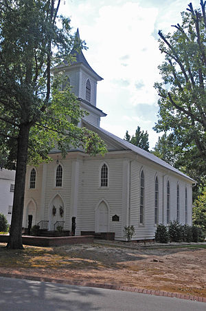 National Register of Historic Places listings in Lee County, North Carolina - Image: BUFFALO PRESBYTERIAN CHURCH AND CEMETERIES; LEE COUNTY