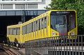 BVG HK series 1005 entering Mendelssohn-Bartholdy-Park station 20130718 2.jpg